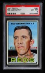 1967 Topps #597  Ted Abernathy  Front Thumbnail