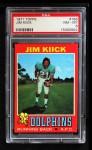 1971 Topps #186  Jim Kiick  Front Thumbnail