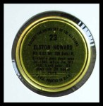 1964 Topps Coins #23   Elston Howard   Back Thumbnail