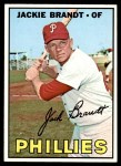 1967 Topps #142  Jackie Brandt  Front Thumbnail
