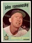 1959 Topps #267  John Romonosky  Front Thumbnail