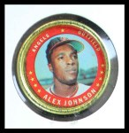 1971 Topps Coins #84  Alex Johnson  Front Thumbnail