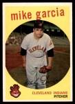 1959 Topps #516  Mike Garcia  Front Thumbnail