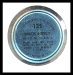 1971 Topps Coins #135  Mack Jones  Back Thumbnail