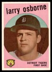 1959 Topps #524  Larry Osborne  Front Thumbnail