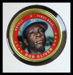 1971 Topps Coins #48  Bob Oliver  Front Thumbnail