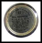 1964 Topps Coins #27   Bill Mazeroski   Back Thumbnail