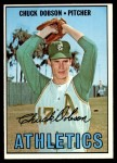 1967 Topps #438  Chuck Dobson  Front Thumbnail