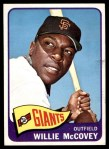 1965 Topps #176  Willie McCovey  Front Thumbnail