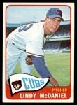 1965 Topps #244  Lindy McDaniel  Front Thumbnail