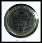 1964 Topps Coins #66   Alvin McBean   Back Thumbnail