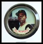1964 Topps Coins #66   Alvin McBean   Front Thumbnail