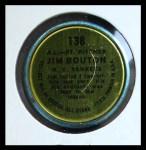 1964 Topps Coins #138   -  Jim Bouton All-Star Back Thumbnail