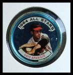 1964 Topps Coins #127   -   Luis Aparicio All-Star Front Thumbnail