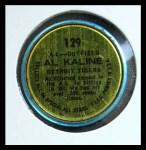 1964 Topps Coins #129   -   Al Kaline All-Star Back Thumbnail