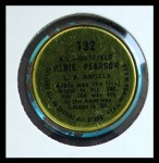 1964 Topps Coins #132   -   Albie Pearson All-Star Back Thumbnail