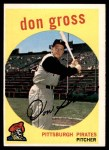1959 Topps #228  Don Gross  Front Thumbnail