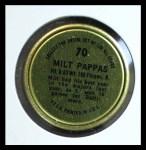 1964 Topps Coins #70   Milt Pappas   Back Thumbnail