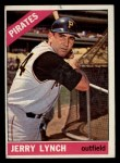 1966 Topps #182  Jerry Lynch  Front Thumbnail
