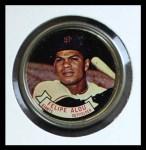 1964 Topps Coins #11   Felipe Alou   Front Thumbnail