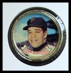 1964 Topps Coins #36   Juan Marichal   Front Thumbnail