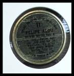 1964 Topps Coins #11   Felipe Alou   Back Thumbnail