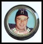 1964 Topps Coins #33  Eddie Mathews  Front Thumbnail