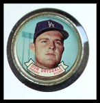 1964 Topps Coins #34   Don Drysdale   Front Thumbnail