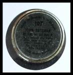 1964 Topps Coins #107  John Bateman  Back Thumbnail