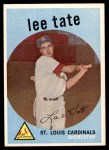 1959 Topps #544  Lee Tate  Front Thumbnail