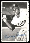 1969 Topps Deckle Edge #12  Rod Carew  Front Thumbnail