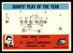 1965 Philadelphia #126   -  Allie Sherman New York Giants Front Thumbnail