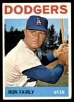 1964 Topps #490  Ron Fairly  Front Thumbnail