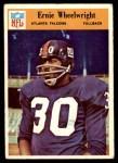1966 Philadelphia #12  Ernie Wheelwright  Front Thumbnail