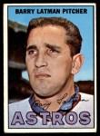 1967 Topps #28  Barry Latman  Front Thumbnail