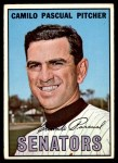 1967 Topps #71  Camilo Pascual  Front Thumbnail