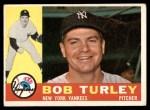 1960 Topps #270  Bob Turley  Front Thumbnail