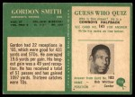 1966 Philadelphia #113  Gordon Smith  Back Thumbnail