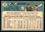 1965 Topps #265  Jim Pagliaroni  Back Thumbnail
