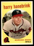 1959 Topps #322 TR Harry Hanebrink  Front Thumbnail