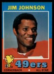 1971 Topps #24  Jim Johnson  Front Thumbnail