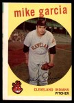 1959 Topps #516  Mike Garcia  Front Thumbnail