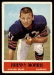 1964 Philadelphia #22  Johnny Morris  Front Thumbnail