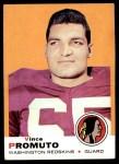 1969 Topps #92  Vince Promuto  Front Thumbnail