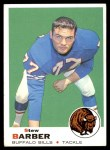 1969 Topps #242  Stew Barber  Front Thumbnail