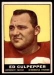 1961 Topps #84  Ed Culpepper  Front Thumbnail