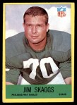 1967 Philadelphia #143  Jim Skaggs  Front Thumbnail