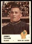 1961 Fleer #89  Jimmy Taylor  Front Thumbnail