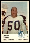 1961 Fleer #48  Jerry Tubbs  Front Thumbnail