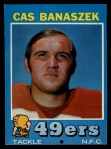 1971 Topps #52  Cas Banaszek  Front Thumbnail